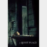 A Quiet Place Digital 4K Movie Code Vudu
