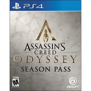 Assassins Creed Odyssey PS4 (Season Pass only)