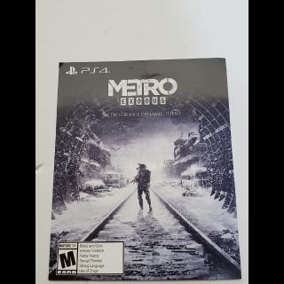 Metro Exodus Dynamic Theme PS4