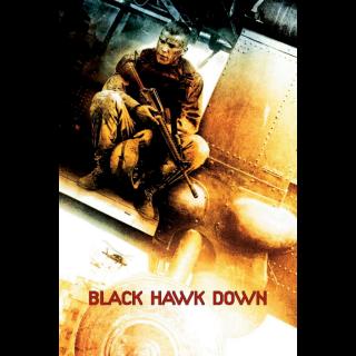 Black Hawk Down Digital Movie Code 4k