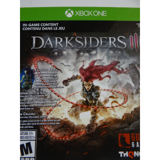 Darksiders III 3 Apocalypse Edition XBOX ONE Collectors Edition DLC only