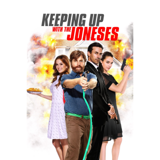 Keeping Up with the Joneses Digital HD Movie Code