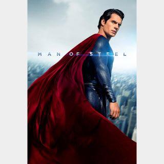 Man of Steel Digital HD Movie Code
