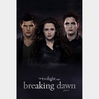 The Twilight Saga: Breaking Dawn - Part 2 Digital SD Movie Code VUDU