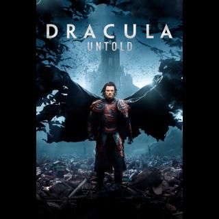 Dracula Untold Digital Movie Code 4K