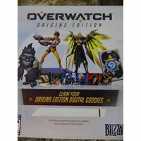 Overwatch Origins Edition Digital Goodies Baby Winston (Read Description)No Game!