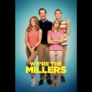 We're the Millers  Digital HD Movie Code Movies Anywhere