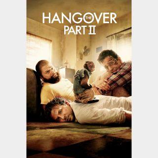 The Hangover Part II Digital HD Movie Code