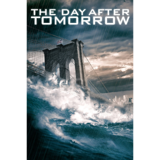 The Day After Tomorrow Digital HD Movie Code Movies Anywhere