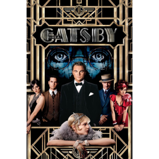 The Great Gatsby Digital HD Movie Code Movies Anywhere