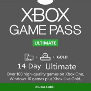 Xbox Game Pass Ultimate (14 Day Free atrial) INSTANT