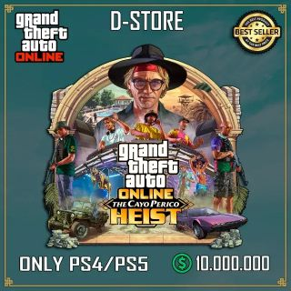Shark Card Gta 5 PS4 or Ps5 Grand Theft Auto V Online $ 10,000,000