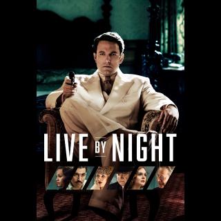 Live by Night Vudu Instawatch