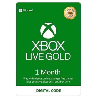 Xbox Live Gold 1 months (GLOBAL)