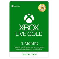 Xbox Live Gold 1 month (GLOBAL)