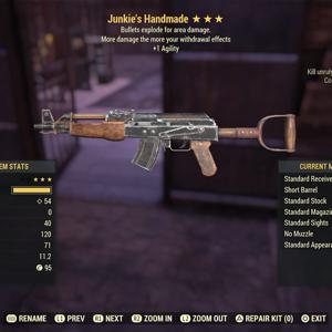 Weapon | je agility handmade