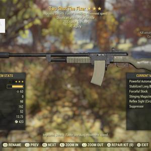 Weapon | tsffr agility fixer