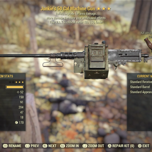 Weapon | je 50cal