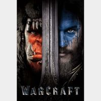 Warcraft (4K UHD iTunes) Code Instant Delivery!