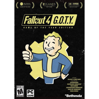 Fallout 4: Game of the Year Edition (Steam-PC) Worldwide