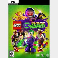 Lego DC Super-Villains (Steam-PC) Key Worldwide