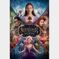 The Nutcracker and the Four Realms (4K Movies Anywhere) Code Instant Delivery!