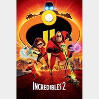 Incredibles 2 (4K UHD Movies Anywhere) Code Instant Delivery!
