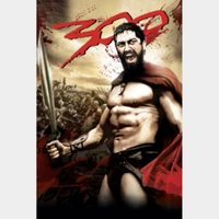 300 (4K UHD Movies Anywhere) Code Instant Delivery!