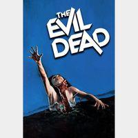 The Evil Dead (4K UHD Vudu or Fandango) Code Instant Delivery!