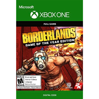 Borderlands: Game of the Year Edition (Xbox One)
