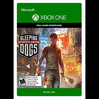Sleeping Dogs: Definitive Edition (Xbox One) Digital Code