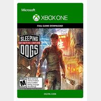 Sleeping Dogs: Definitive Edition (Xbox One) Digital Code