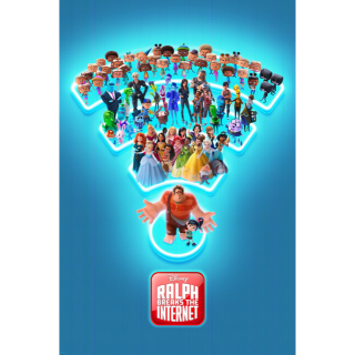 Ralph Breaks the Internet (4K Movies Anywhere) Code Instant Delivery!