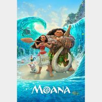 Moana (4K Movies Anywhere) Code Instant Delivery!