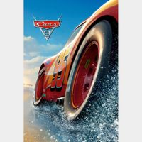 Cars 3 (Movies Anywhere HD) Instant Delivery!