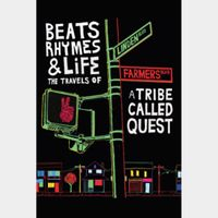 Beats Rhymes & Life: The Travels of A Tribe Called Quest (Movies Anywhere HD) Code Instant Delivery!