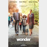 Wonder (4K UHD iTunes) Instant Delivery!