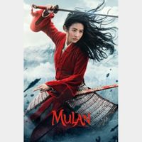 Mulan (2020) (4K UHD Movies Anywhere) Code Instant Delivery!