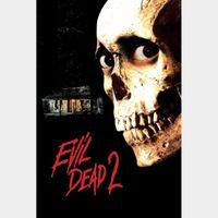 Evil Dead II (4K UHD Vudu or Fandango) Code Instant Delivery!