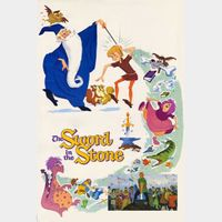 The Sword in the Stone 50th Anniversary Edition (Movies Anywhere HD) Code Instant Delivery!
