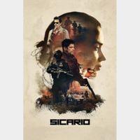 Sicario (4K UHD Vudu / iTunes / Fandango) Code Instant Delivery!