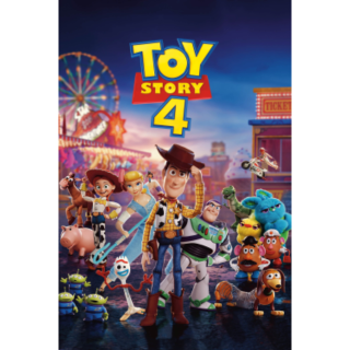 Toy Story 4 (4K Movies Anywhere) Code Instant Delivery!
