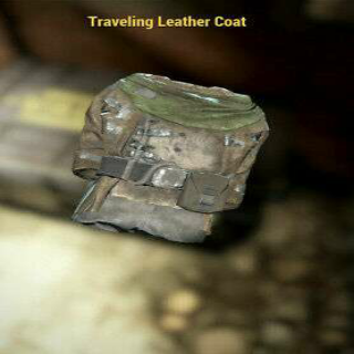 Apparel | TRAVELING LEATHER COAT