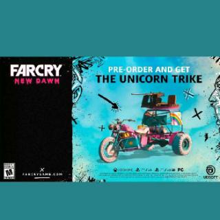 Far Cry New Dawn Trike Dlc