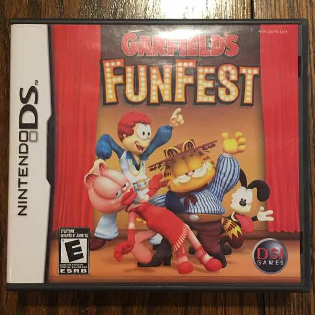 Garfield's Fun Fest (REPLACEMENT CASE ONLY)