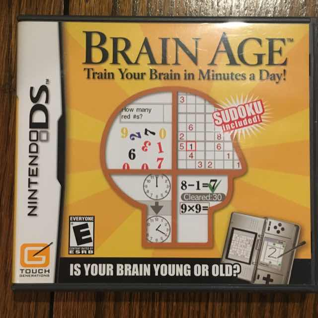 Brain Age Nintendo DS