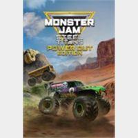 Monster Jam Steel Titans Power Out Bundle