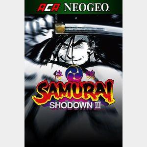 ACA NEOGEO SAMURAI SHODOWN III (Windows)