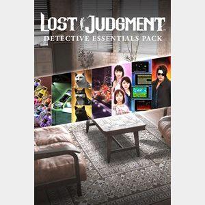 Lost Judgment Detective Essentials Paketi
