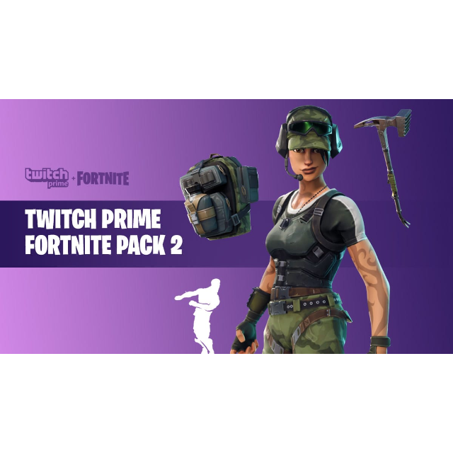 Fortnite Twitch Prime Pack #2 (PC, Xbox, Playstation, Mobile) [FAST